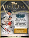2014 Topps Five Star Baseball Hobby 4-Box Case (Presell)