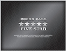 2014 Press Pass Five Star Racing Hobby 3-Box Case (Presell)