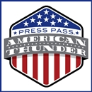 2014 Press Pass Wheels American Thunder Racing Hobby Box (Presell)