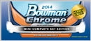 2014 Bowman Chrome Mini Baseball Hobby 8-Box (Set) Case (Presell)