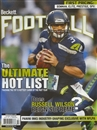2014 Beckett Football Monthly Price Guide (#285 October) (Russell Wilson)