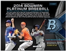2014 Bowman Platinum Baseball Hobby 12-Box Case (Presell)
