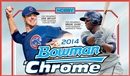 2014 Bowman Chrome Baseball Hobby 12-Box Case (Presell)