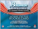 2014 Bowman Chrome Football Hobby 12-Box Case (Presell)