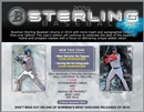 2014 Bowman Sterling Baseball Hobby 8-Box Case (Presell)