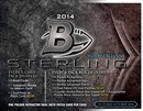 2014 Bowman Sterling Football Hobby 8-Box Case (Presell)