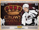 2013/14 Panini Crown Royale Hockey Hobby 12-Box Case (Presell)