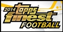 2014 Topps Finest Football Hobby 8-Box Case (Presell)