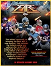 2014 Topps Fire Football Hobby Box (Presell)
