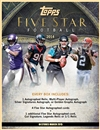 2014 Topps Five Star Football Hobby 4-Box Case (Presell)