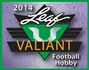 2014 Leaf Valiant Football Hobby 15-Box Case (due April)