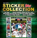 2014 Topps Baseball Hobby Sticker 16-Box Case (Presell)