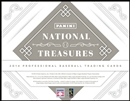 2014 Panini National Treasures Baseball Hobby Box (Presell)