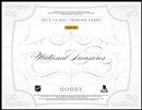 2013-14 Panini National Treasures Hockey Hobby 4-Box Case (Presell)