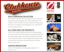 2014 Onyx Clubhouse Collection Baseball Hobby 3-Box Case (Presell)