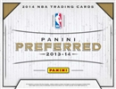 2013/14 Panini Preferred Basketball Hobby 10-Box Case (Presell)