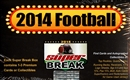 2014 Super Break Series 1 Football Hobby Box