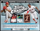 2014 Topps Chrome Baseball Hobby Box (Presell)