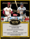 2014 Topps Tier One Baseball Hobby Box (Presell)