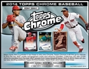2014 Topps Chrome Baseball Jumbo 8-Box Case (Presell)