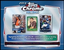2014 Topps Chrome Football Hobby Box (Presell)
