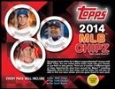 2014 Topps MLB Chipz Baseball Hobby Box (Presell)