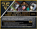 2014 Topps Triple Threads Football Hobby Box (Presell)