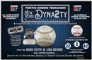 2014 TriStar Hidden Treasures New York Dynasty Baseball Hobby 12-Box Case (Presell)