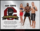 2014 Topps UFC Champions Hobby 12-Box Case (Presell)