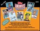 2015 Topps Archives Signature Series Baseball Hobby 20-Box Case (Presell)