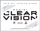 2015 Panini Clear Vision Football Hobby 9-Box Case (Presell)