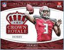 2015 Panini Crown Royale Football Hobby 12-Box Case (Presell)