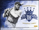 2015 Panini Diamond Kings Baseball Hobby 16-Box Case- DACW Live 30 Spot Random Team Break #1