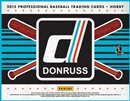 2015 Panini Donruss Baseball Hobby 16-Box Case (Presell)