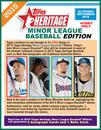 2015 Topps Heritage Minor League Baseball Hobby 12-Box Case (Presell)