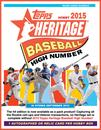 2015 Topps Heritage High Number Baseball Hobby 12-Box Case (Presell)