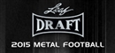 2015 Leaf Metal Football Hobby Box (Presell)