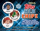 2015 Topps MLB Chipz Baseball 6-Box Case (Presell)