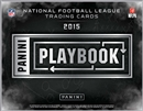2015 Panini Playbook Football Hobby 15-Box Case (Presell)