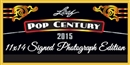 2015 Leaf Pop Century 11 x 14 Signed Photograph Edition Hobby 10-Box Case (Presell)