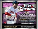 2015 Topps Chrome Baseball Jumbo Box (Presell)
