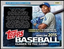 2015 Topps Series 1 Baseball Jumbo 6-Box Case (Presell)