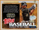 2015 Topps Series 2 Baseball Jumbo 6-Box Case (Presell)