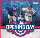 2015 Topps Opening Day Baseball Hobby 20-Box Case (Presell)
