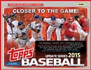 2015 Topps Update Baseball Hobby 12-Box Case (Presell)