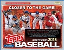 2015 Topps Update Baseball Jumbo 6-Box Case (Presell)
