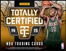 2014/15 Panini Totally Certified Basketball Hobby Box (Presell)