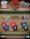 2015 TriStar Game Day Greats Football Hobby Case (6 Jerseys, 2 Full-Size Helmets) (Presell)