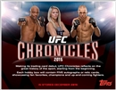 2015 Topps UFC Chronicles Hobby 6-Box Case (Presell)