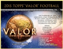 2015 Topps Valor Football Hobby 12-Box Case (Presell)